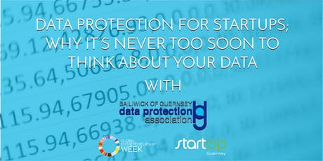 """Data protection for start ups."" tickets"