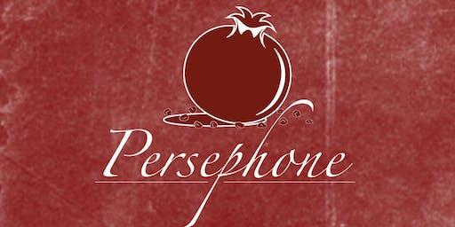 Persephone Dinner 11/10