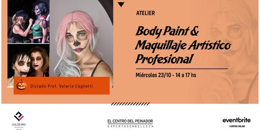 Body Paint & Maquillaje Artístico Profesional con COLORPRO