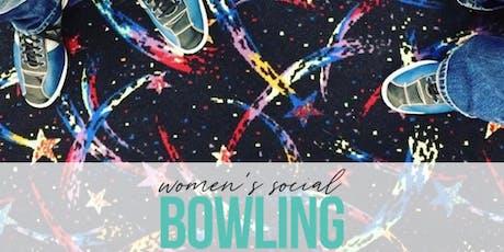 Women's Social Bowling! tickets