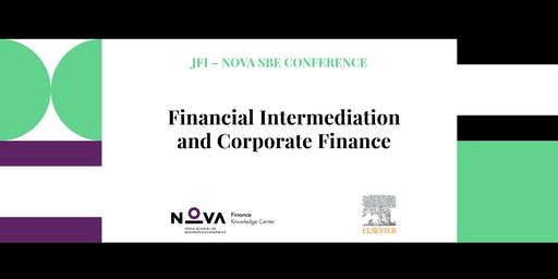 JFI – Nova SBE Conference - Financial Intermediation and Corporate Finance