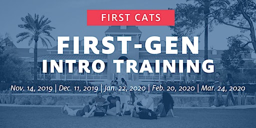First Cats First-Gen Intro Training