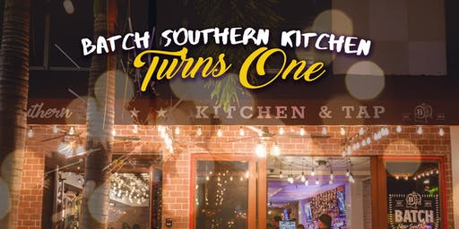Batch New Southern Turns One!