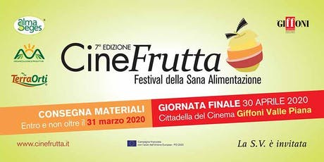 Cinefrutta il concorso per cortometraggi per scuole medie e superiori biglietti