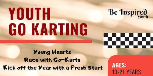 Youth Go-Karting with Shaykh Musleh Khan