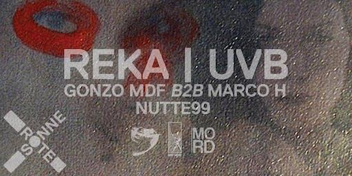 REKA, UVB | at Rote Sonne