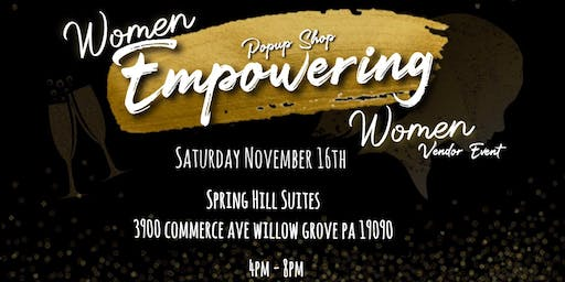 1st Annual Women Empowering Women Vendor Event