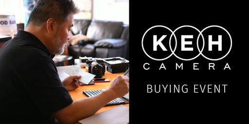 KEH Camera at Harry's Camera and Video- Buying Event