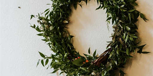 DEC 15 | Floral Design Class: Winter Greenery Wreath
