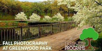 Fall Photography at Greenwood Park