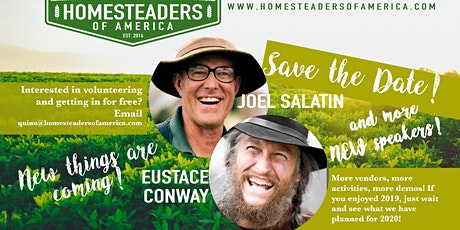 2020 Homesteaders of America Conference tickets