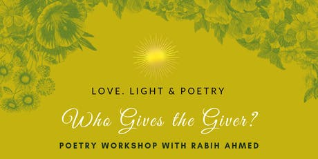 Who Gives the Giver Poetry Workshop tickets