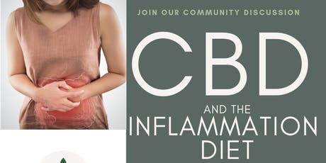 CBD and The Inflammation Diet tickets