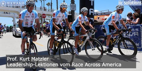 Leadership-Lektionen vom Race Across America – Prof. Kurt Matzler tickets