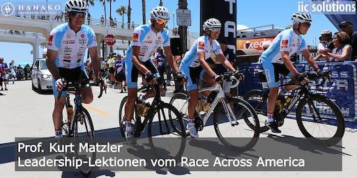 Leadership-Lektionen vom Race Across America – Prof. Kurt Matzler
