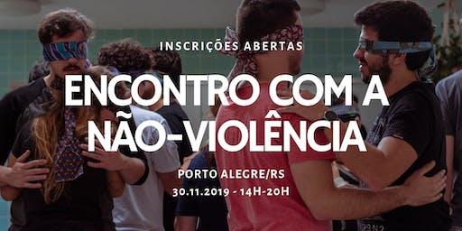 Encontro com a Não-Violência, em Porto Alegre