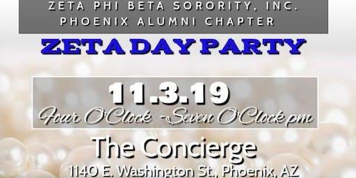 Zeta Phi Beta - DGZ Day Party