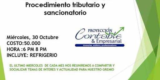 Grupo de estudio Contable:procedimiento Tributario y sancionatorio