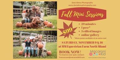 Fall/Holiday Mini Photo Session