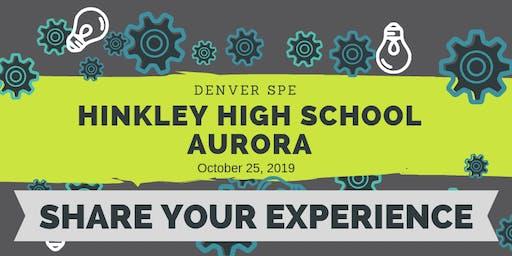SPE Community Outreach | Hinkley High School Aurora, CO