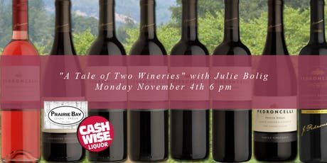 A Tale of Two Wineries - Wine Class tickets