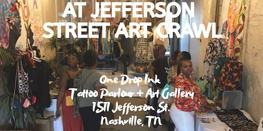 Pop-Up Shop at Jefferson Street Art Crawl