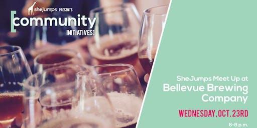 WA SheJumps Meet Up at Bellevue Brewing Company