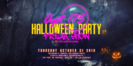 FREAK SHOW - Gatineau's LARGEST Halloween Party tickets