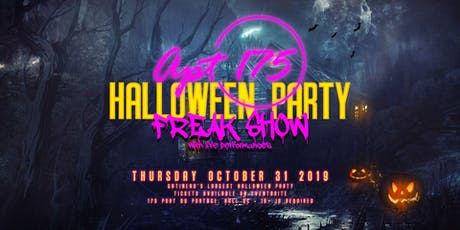 FREAK SHOW - Gatineau's LARGEST Halloween Party billets