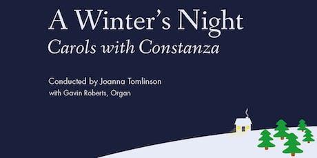 A Winter's Night: Carols with Constanza tickets
