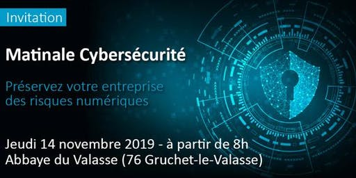 Matinale cybersécurité // préservez votre entreprise des risques numériques