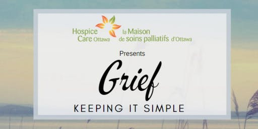 Grief, Keeping it Simple