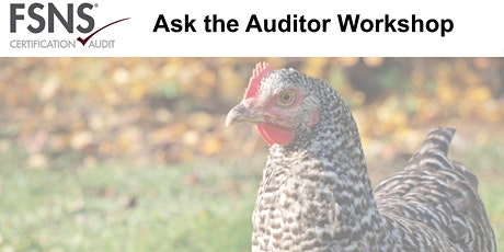 FSNS C&A  Ask the Auditor Workshop tickets