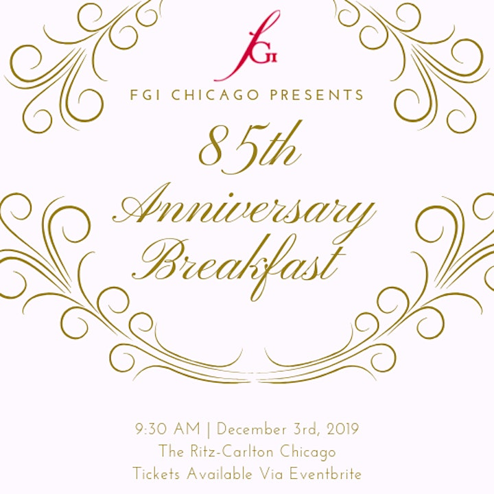 85th Anniversary Breakfast: Honoring The Past & Celebrating The Future image