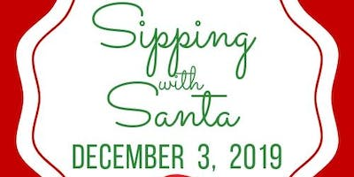 Sipping with Santa for the Food Bank & JCOA.