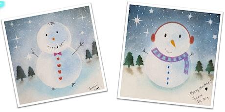 ColourPlay with Pastel Nagomi Art - Christmas tickets