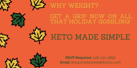Why Weight: Get a grip now on all that holiday gobbling tickets