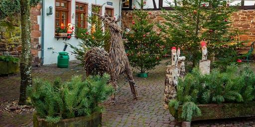 """So,01.12.19 Wanderdate """"Single Wandern Michelstadt mit Einhardsbasilika und Weihnachtsmarkt für 35-55J"""""""