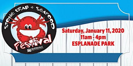 9th Annual Riverwalk Stone Crab & Seafood Festival tickets