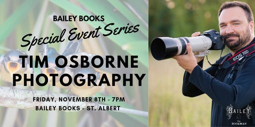 Bailey Books' Special Event Series:Featured Guest - Tim Osborne Photography