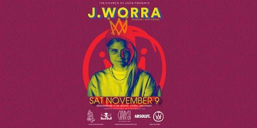 J.WORRA - Sat Nov 9 - Edmonton