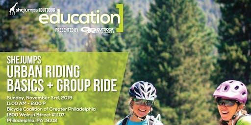 PA SheJumps Urban Riding Basics and Group Ride