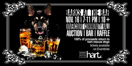 Barks at the Bar tickets