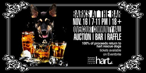 Barks at the Bar