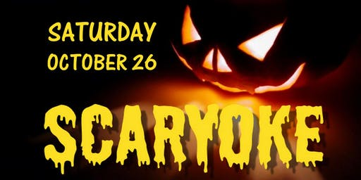 HALLOWEEN SCARYOKE PARTY