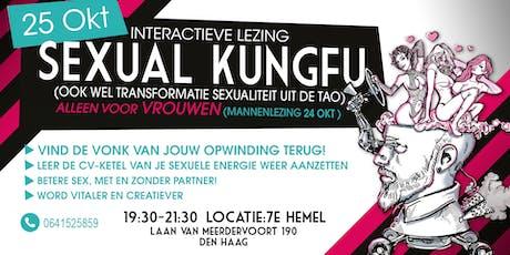Interactieve lezing SEXUAL KUNGFU voor Vrouwen tickets