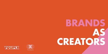 Webinar: Brands as Creators ingressos