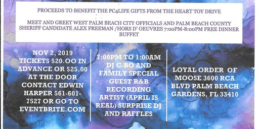 The Pleasant City 2nd Annual Winter Wonderland  Fundraiser All White Party