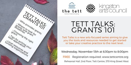 Tett Talks: Grants 101 tickets