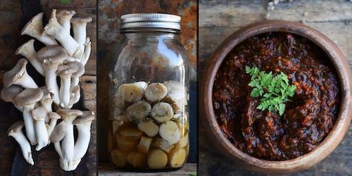 Advanced Fermentation Mushrooms and  Savory Pastes / Plant Walk & Tasting